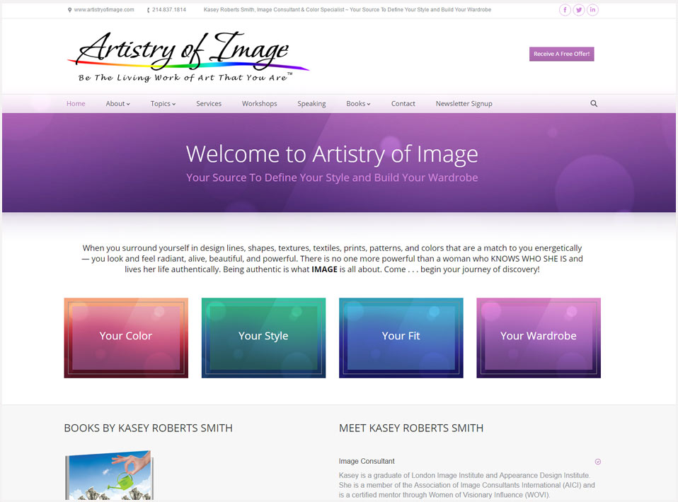 Web Site by Web Image Media